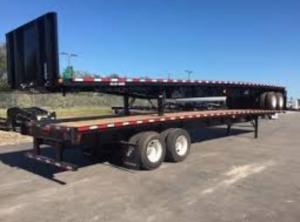clark flatbed trailer