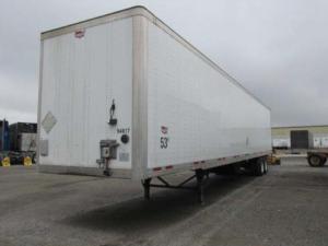 Wabash van trailer